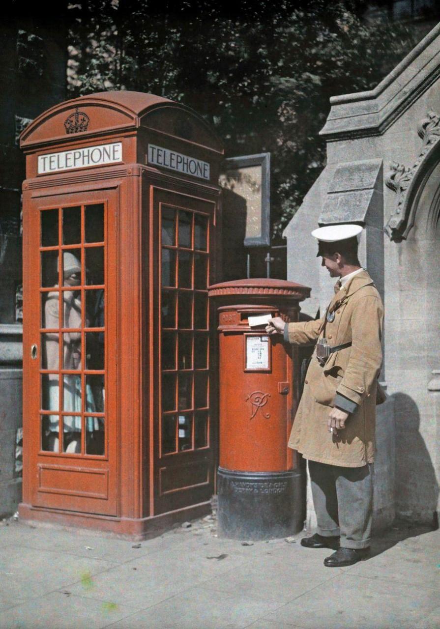Редкие цветные фотографии Англии 1928 года