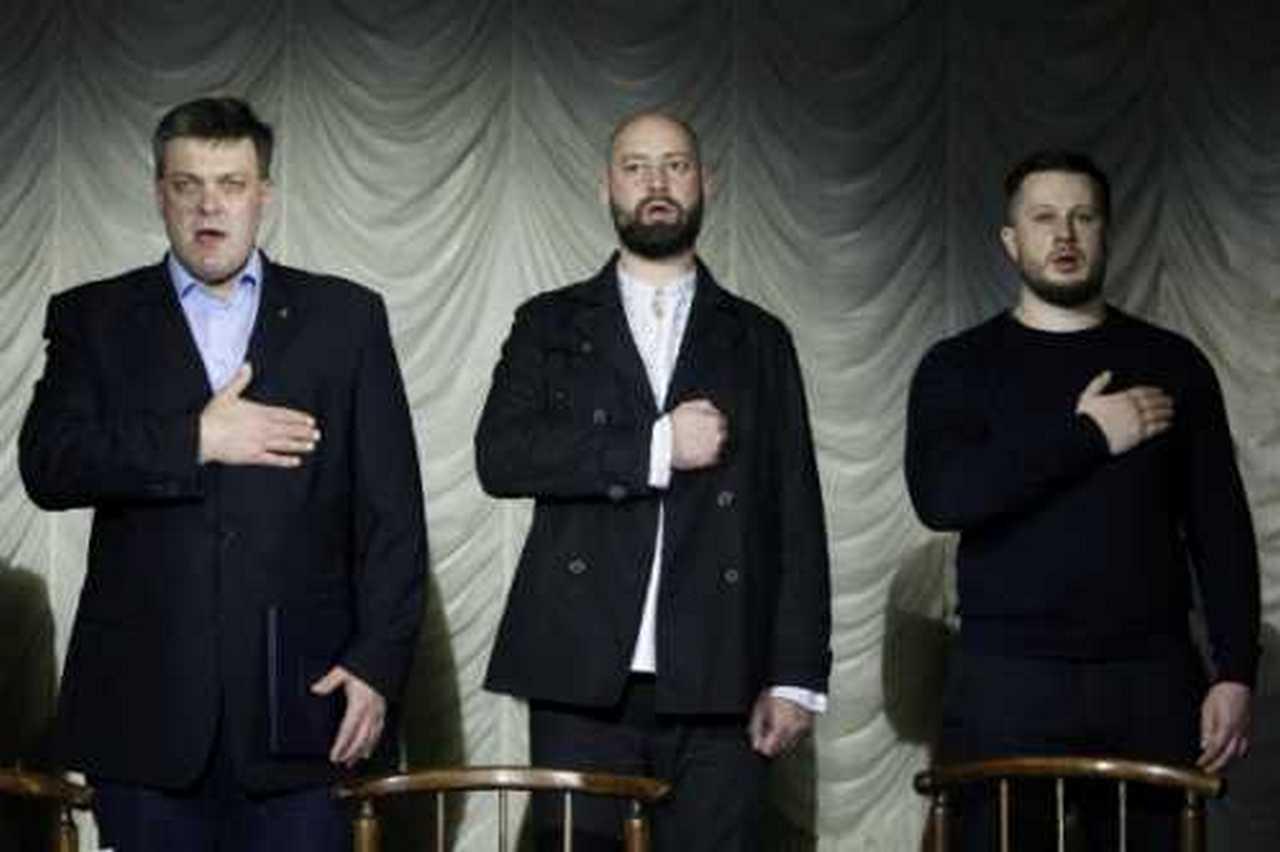 Украинские нацисты объединились для захвата власти