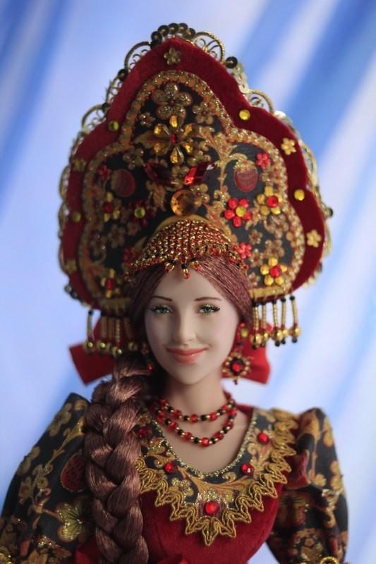 Наш ответ Барби: Куклы ручной работы Ларисы Исаевой куклы, ручная работа