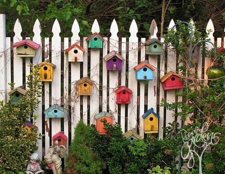 долго как украсить забор из дерева фото нечто