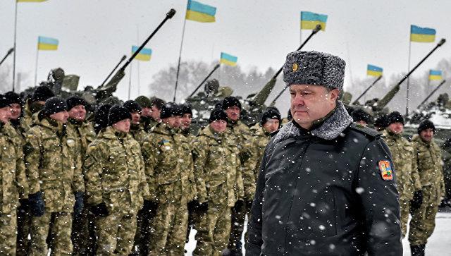 """Порошенко объявил об """"операции Объединенных сил"""" в Донбассе"""