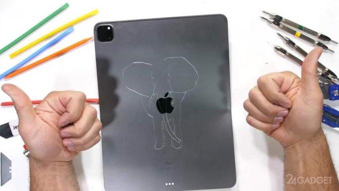 Новый iPad Pro на М1 проверили на прочность