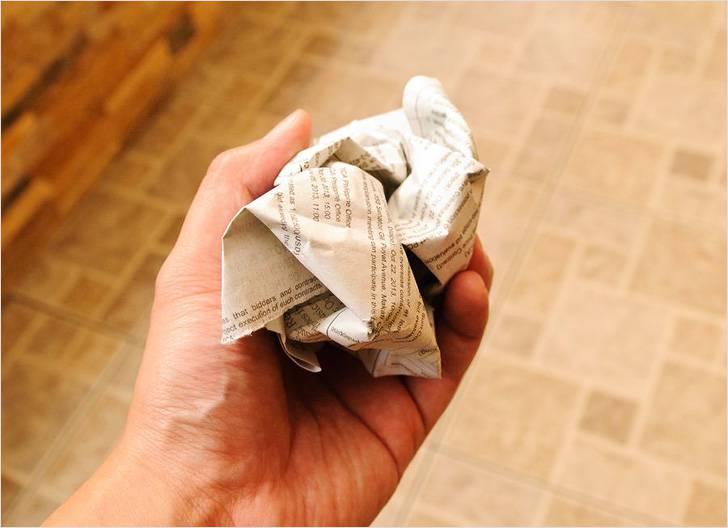 Газеты для мытья окон
