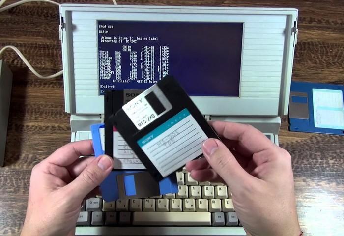 Ноутбук, микроволновка и планшет из СССР
