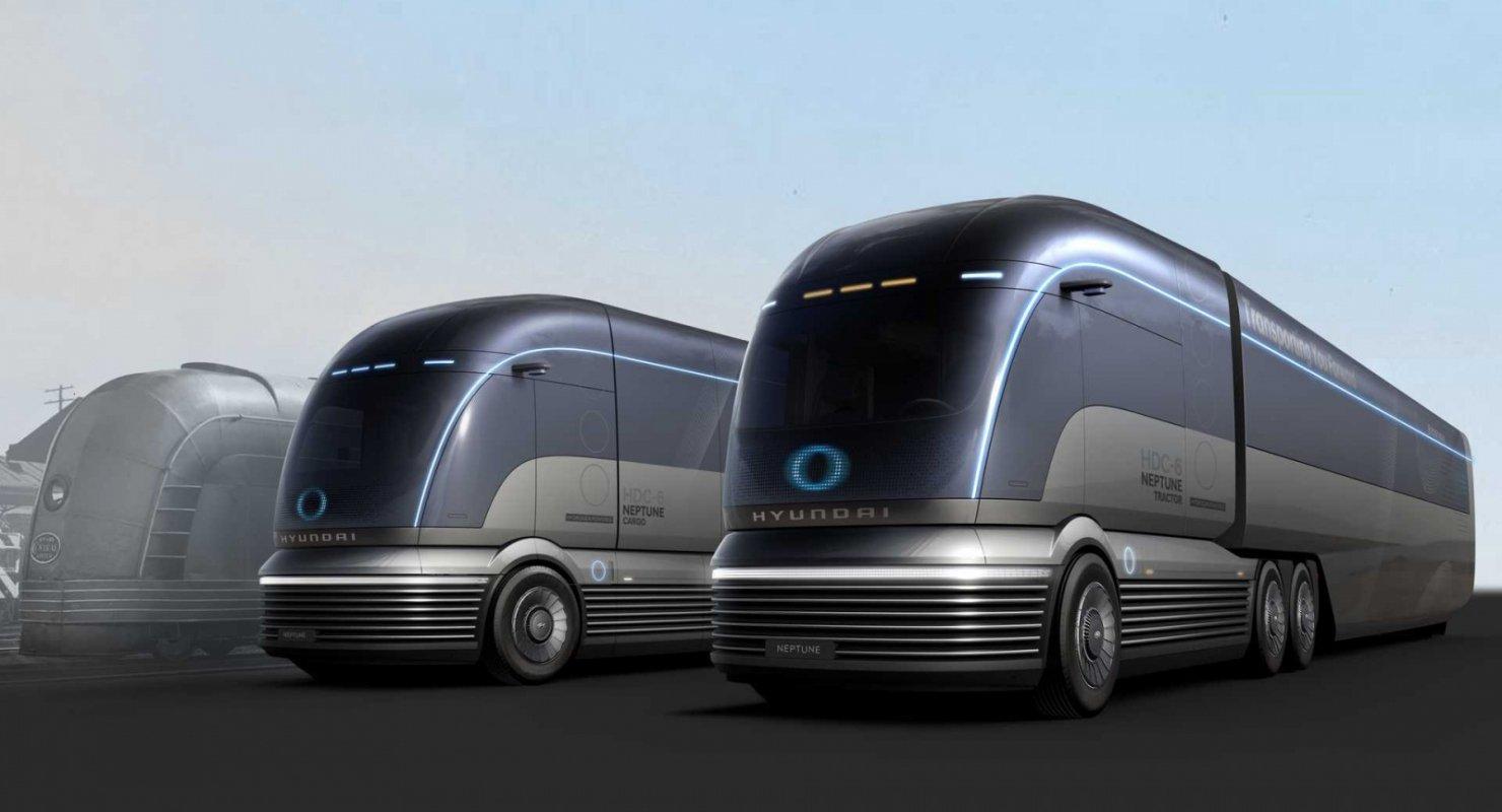 Hyundai привезет в Европу грузовики на водородном топливе Автобизнес