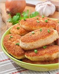 Котлеты с курицей - Что приготовить из куриного филе