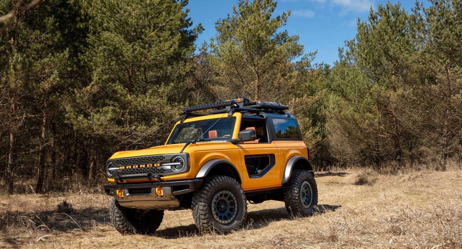 Производство Ford Bronco в 2021 году начнется 3 мая Автомобили