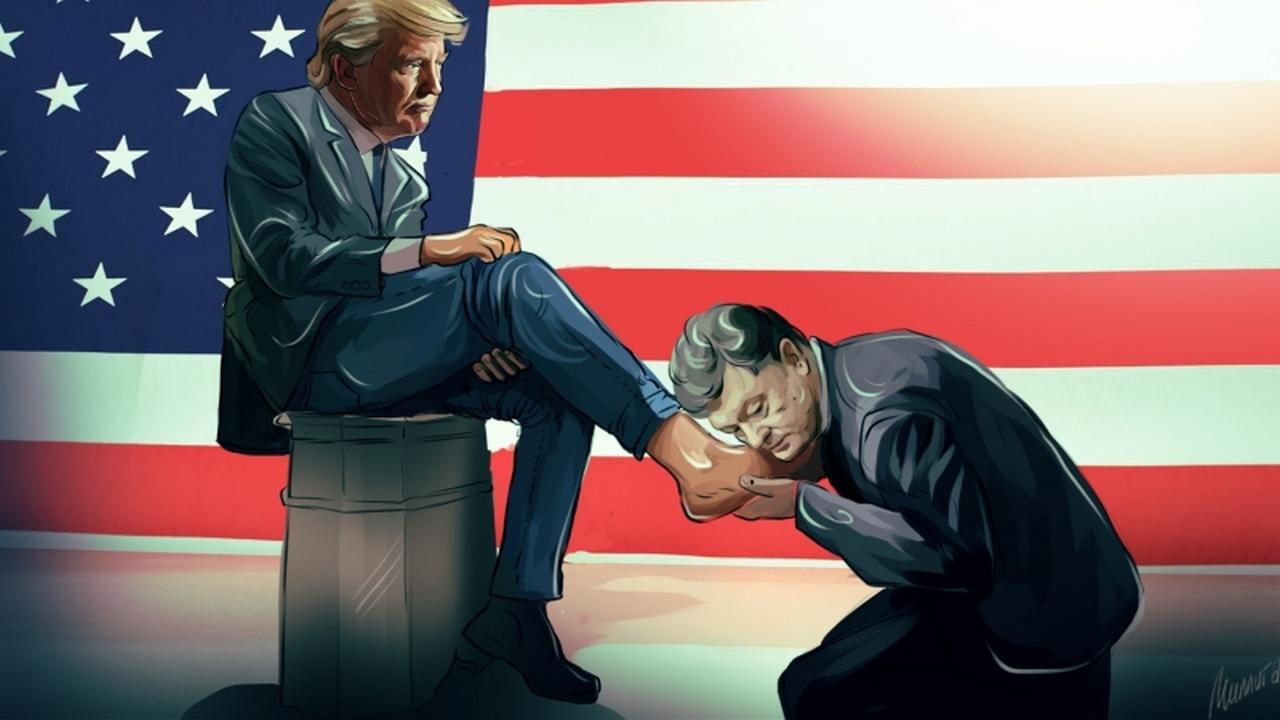 Трамп и порошенко прикольные картинки