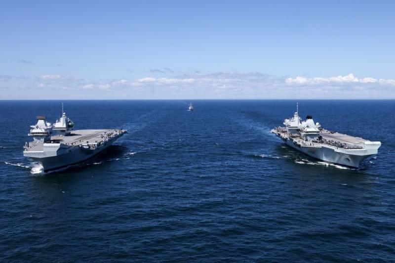 В Британии заявили об «историческом моменте возрождения авианосного флота» Новости
