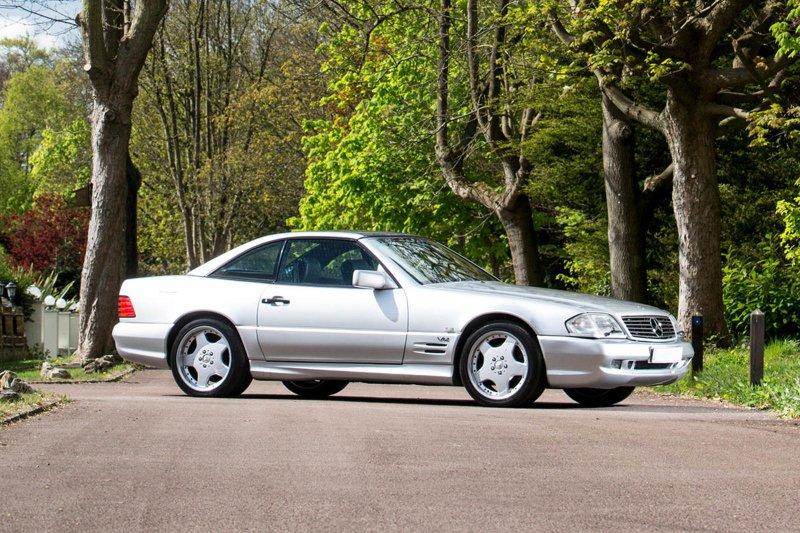 Mercedes-Benz R129 AMG с двигателем объемом 7.2 литра
