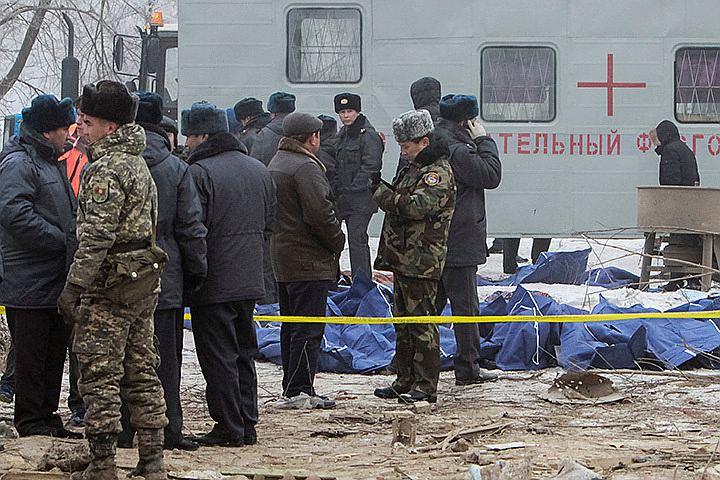 После авиакатастрофы под Бишкеком возбуждено уголовное дело