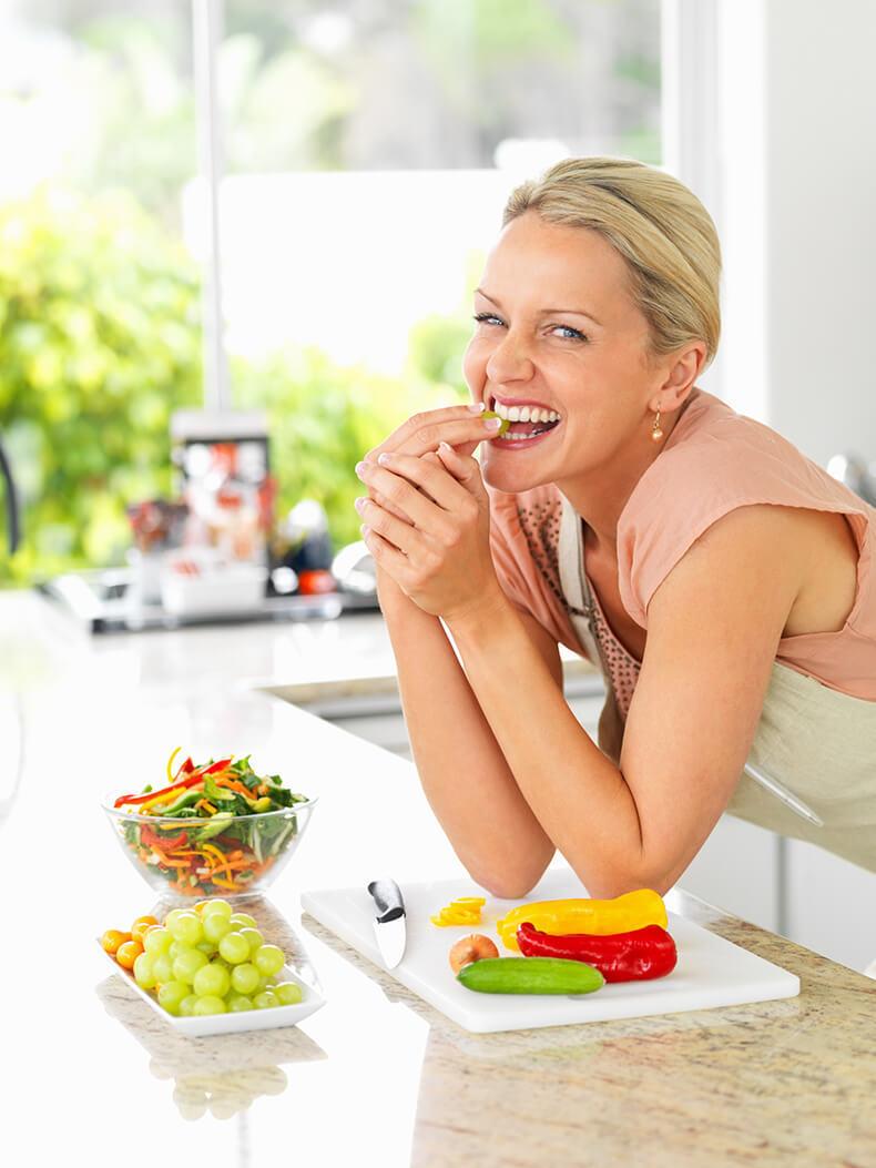 как похудеть в 54 года женщине диета