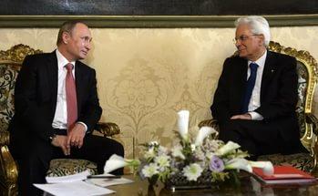 Кремль готовится к встрече президентов РФ и Италии