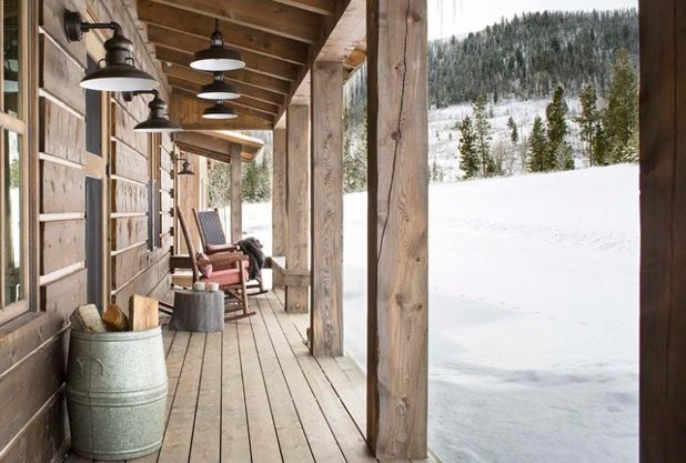 Рустика Веранда Rustic Porch