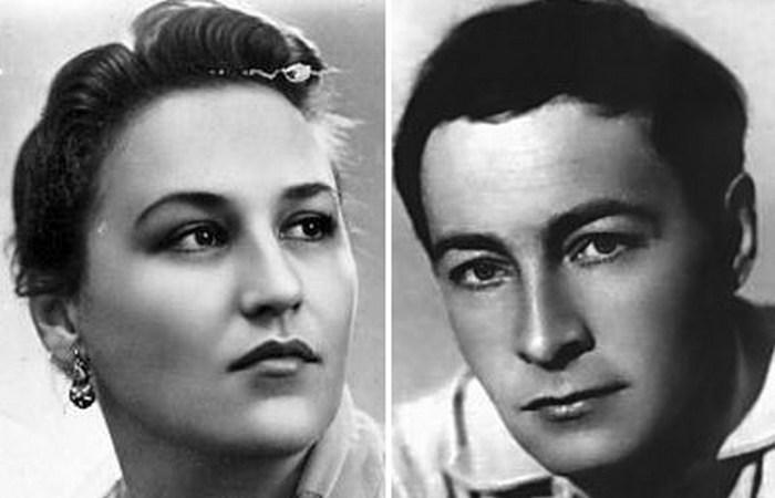 Вячелав Тихонов и Нонна Мордюкова: они сошлись, как лёд и пламя.