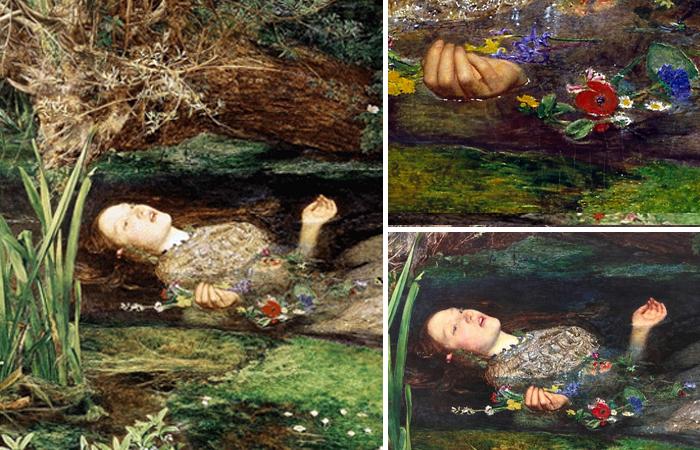 «Офелия» Джона Эверетта Милле 1852 года