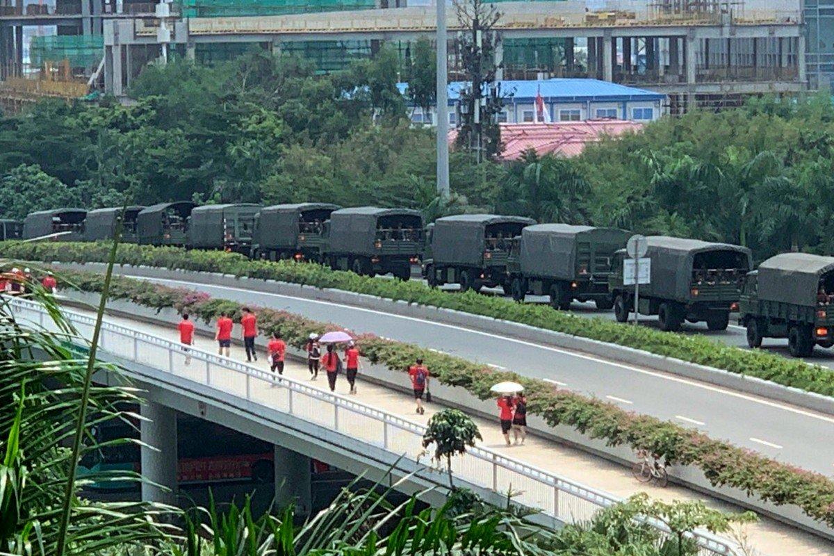 Пекин направил войска в Гонконг для подавления акций протеста