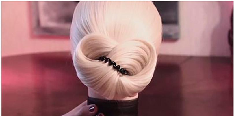 Элегантные и быстрые причёски на резинке!