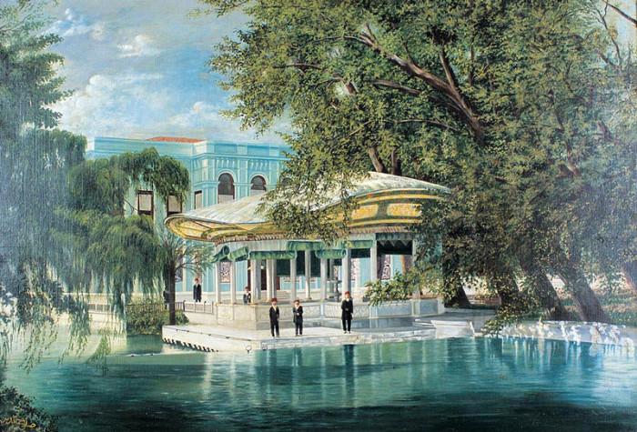 Автор картины – турецкий художник Селахаттин Каглаян (Selahattin Сaglayan).