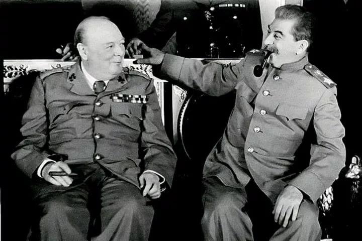 Черчилль о сталинских репрессиях против высшего командного состава РККА накануне ВОВ