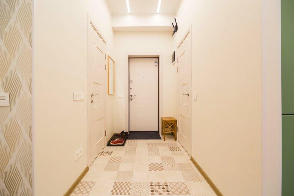Фотография: в стиле , Квартира, Проект недели, Москва, скандинавский минимализм, Монолитный дом, 1 комната, 40-60 метров, ЖК «Atlant City» – фото на InMyRoom.ru