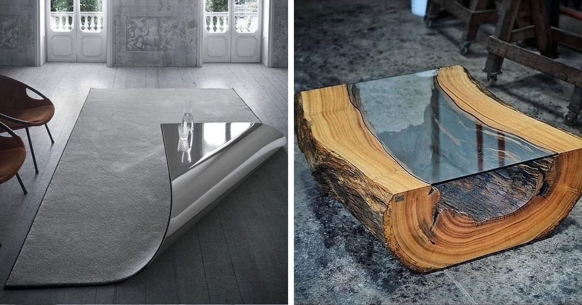 15 прикольных столов – уже гораздо больше, чем просто утилитарный предмет мебели