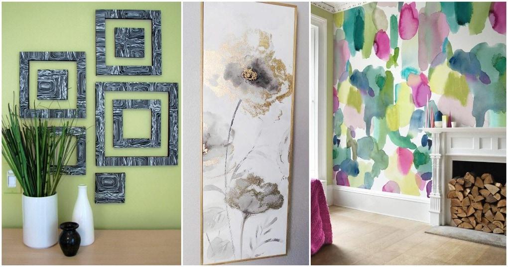 23 неординарные идеи оформления стены в гостиной на любой вкус