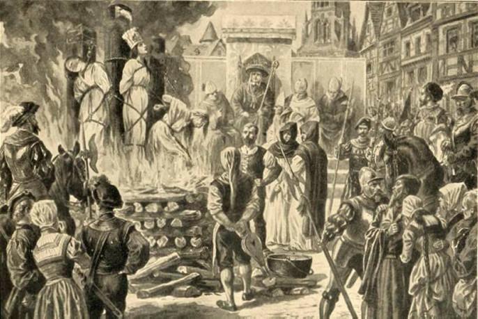 """За что в """"просвещенной """" Европе убивали женщин?  Виолетта Крымская"""