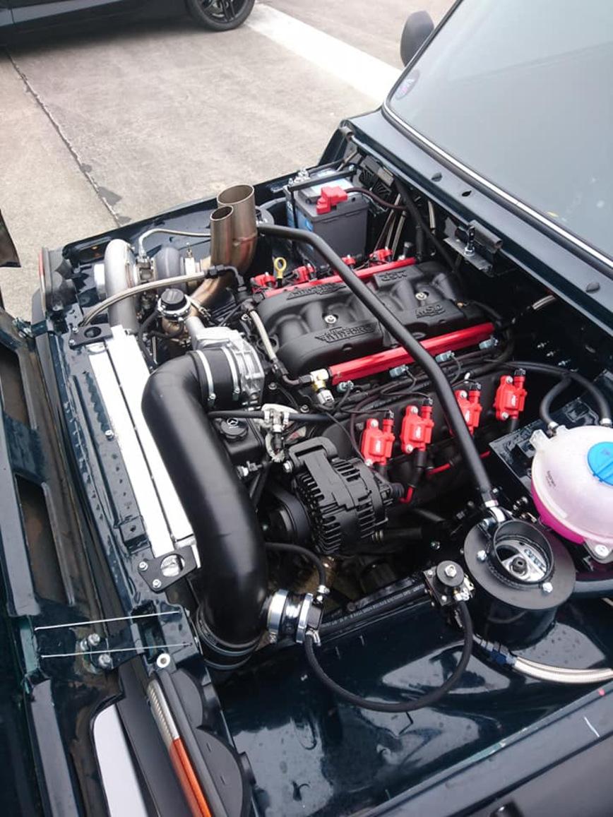 Убийца суперкаров! Lada Niva LSx Turbo 4×4 с 2500-сильным мотором от Chevrolet Corvette авто,авто и мото,автомобиль