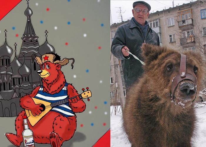 Дикие звери на улицах России…