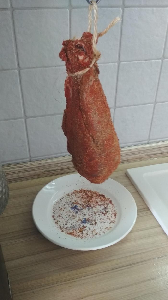 Вяленая голень индейки кулинария,мясные блюда