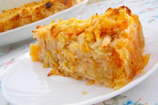 Диетический пирог без пшеничной муки с яблоками - ешь, хоть каждый день