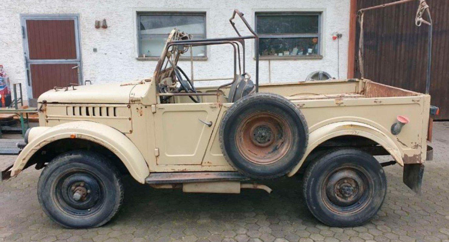 В Германии нашли советский внедорожник ГАЗ-69 с дизельным двигателем Автомобили