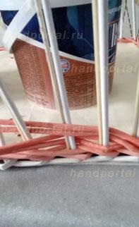 Плетение корзин из бумаги уз…