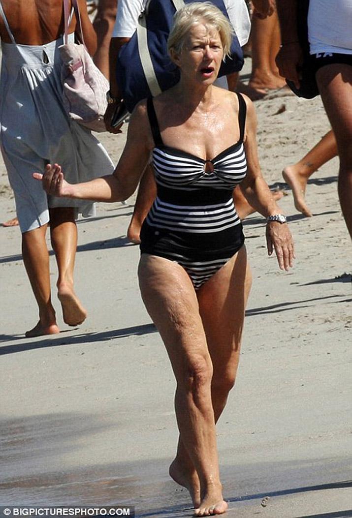 Helen mirren bikini photos — pic 2