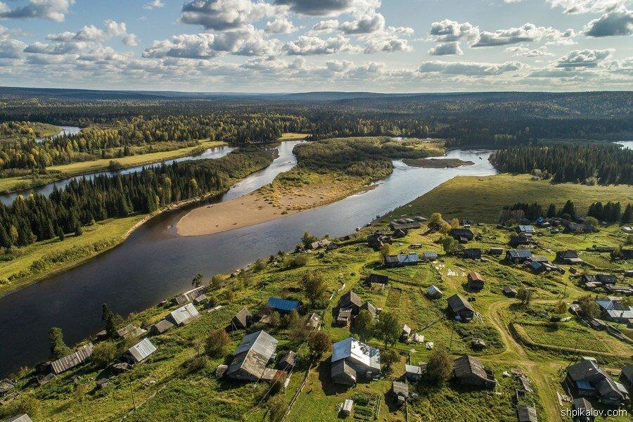 Северная деревня. Красота природы и ужасная бедность