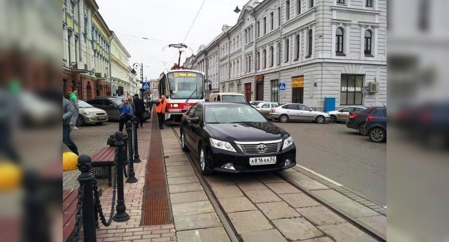 Что грозит за выезд на трамвайную линию Автограмота