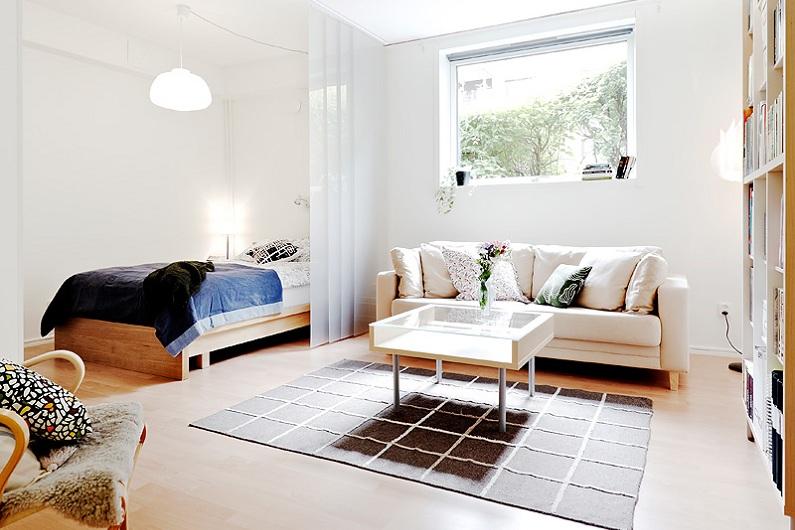 Как из однокомнатной квартиры сделать двухкомнатную: до и после
