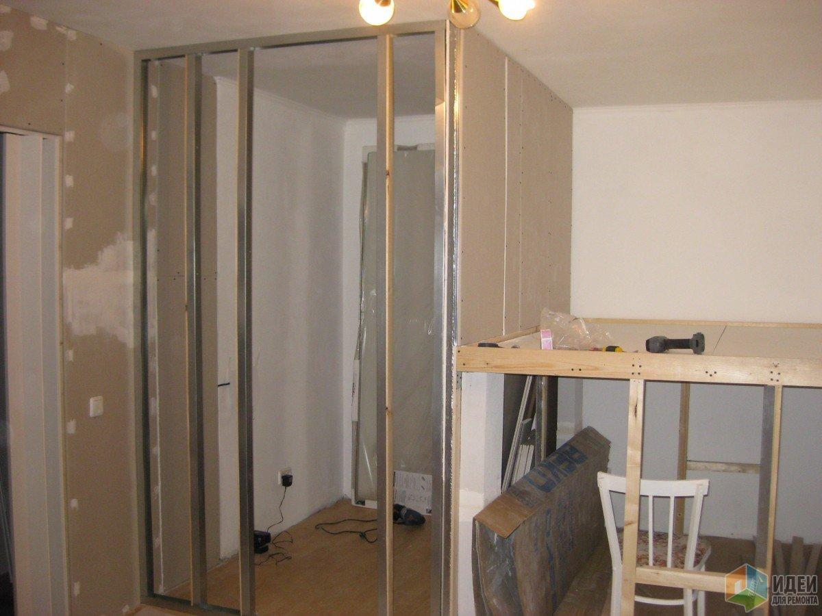 Однушка хрущевка в белом 30 кв.м. - комната