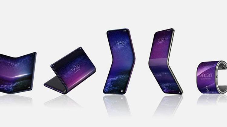 Производитель смартфонов BlackBerry и Alcatel готовит сразу пять складных гаджетов
