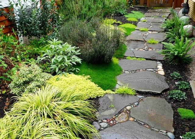 20 отличных идей для садовой дорожки