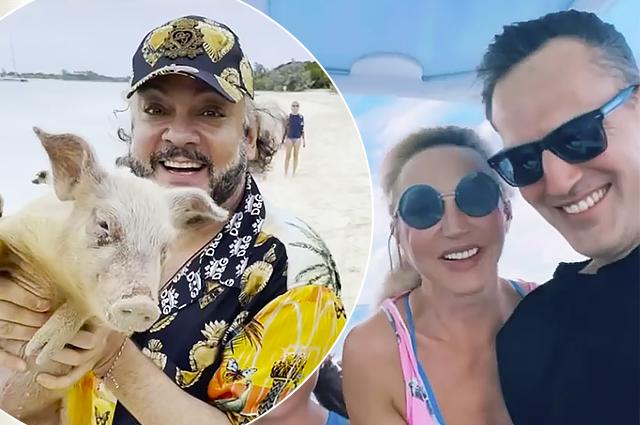 Кристина Орбакайте с мужем и дочерью и Филипп Киркоров с детьми вместе отдохнули на Багамах Новости