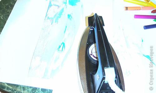 Картина, панно, рисунок, Мастер-класс Энкаустика: как я рисую утюгом Воск. Фото 6