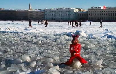 МЧС Петербурга запретило выходить на лед