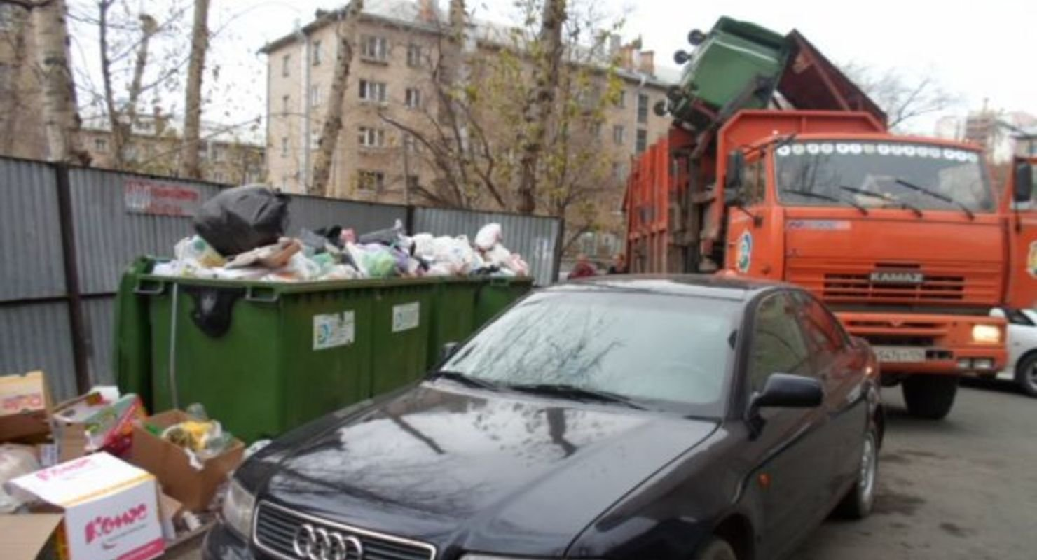 В Приморье водителей хотят штрафовать за парковку возле мусорных баков Исследования
