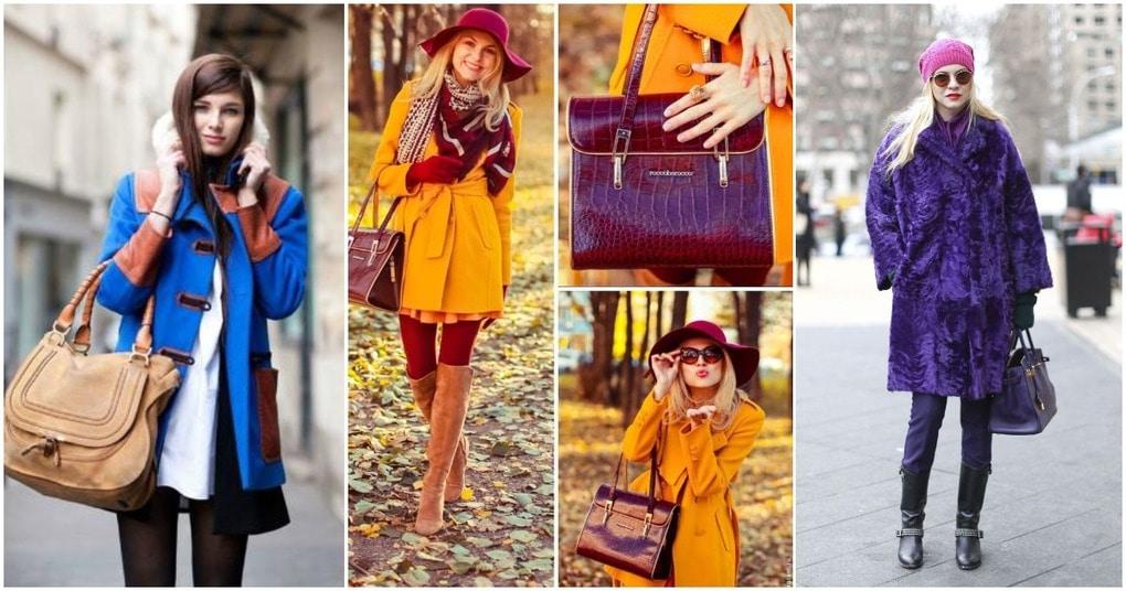Лучшие сочетания цветов для создания модного зимнего образа