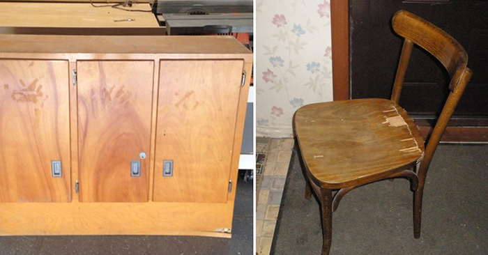 Что можно сделать из старой мебели?