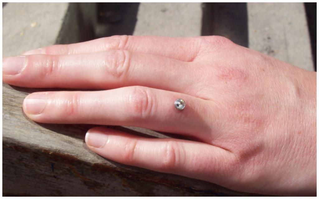 Лучшие друзья девушек – это бриллианты, вшитые в кожу: драгоценные камни из обручальных колец решили вшивать прямо в пальцы