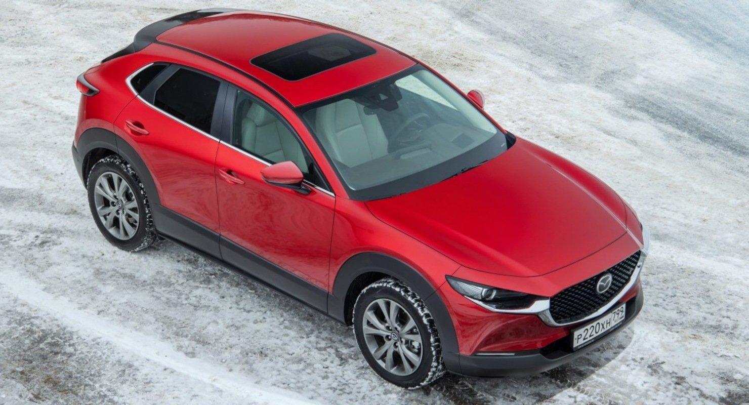 Новая Mazda в исполнении CX-30 получила люк Webasto Автомобили