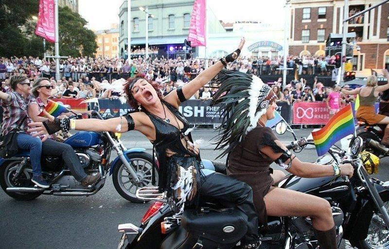Карнавал Марди Гра в Сиднее: градус зашкаливал! Веселые, Марди Гра, австралия, всенародные гулянья, загул, карнавал, сидней, сплошное неприличие